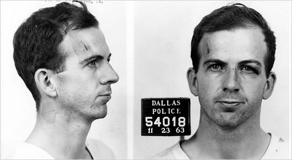 wife of accused assassin Lee Harvey Oswald, told to author A.J. Weberman