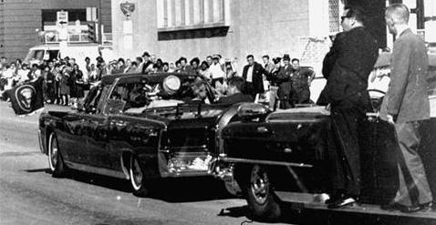 JFK was left like a sitting duck.
