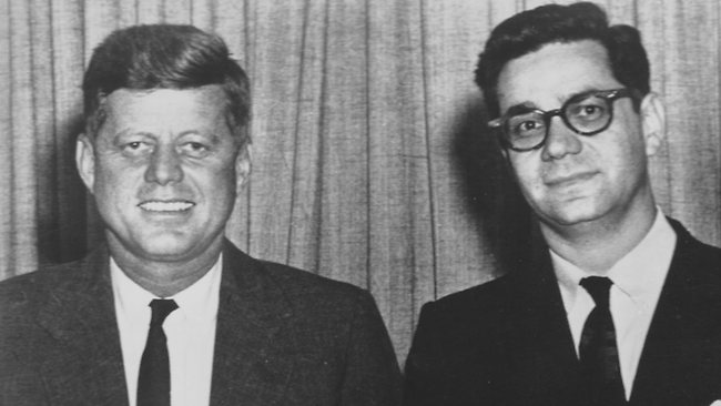 JFK and Mark Lane.