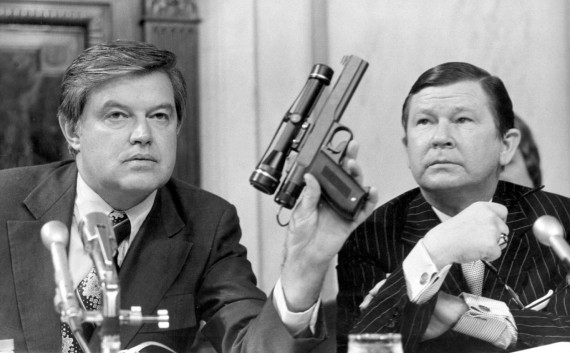 Senator Church (left) uncovers the CIA's assassination ring.